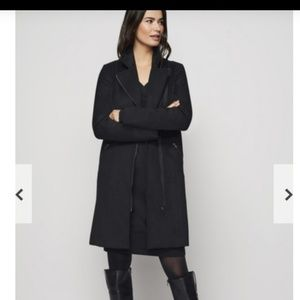 Long Tall Sally Wool Mix Biker Coat Winter